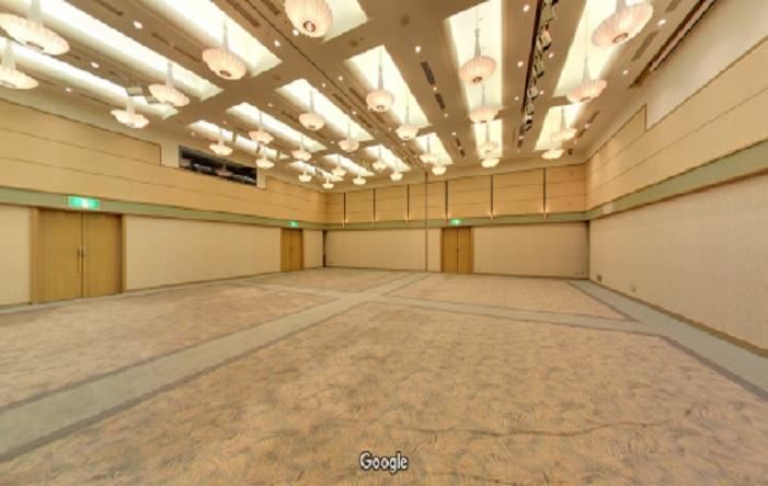 Googleストリートビュー エブノ泉の森ホール