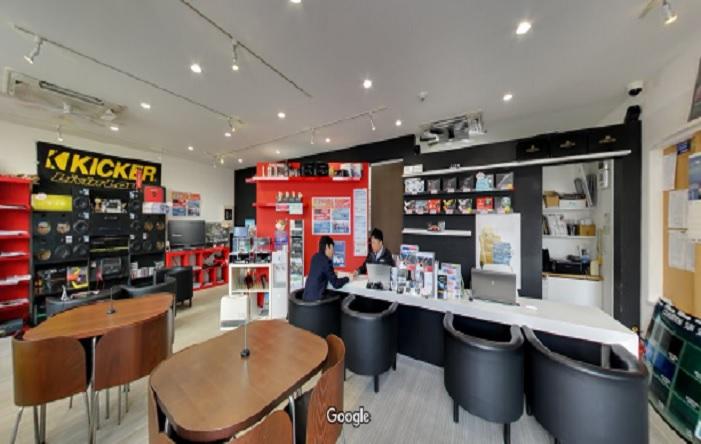 Googleストリートビュー 株式会社ビーパックス 京都店