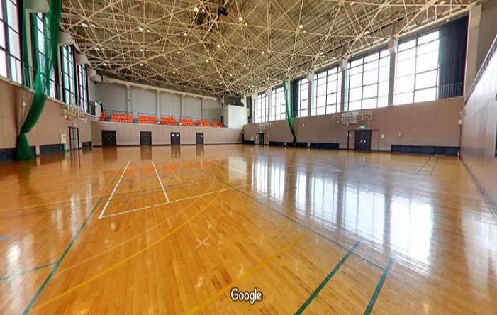 Googleストリートビュー 長浜市民体育館