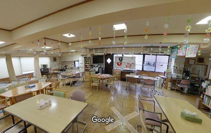 Googleストリートビュー 陽だまりデイサービス