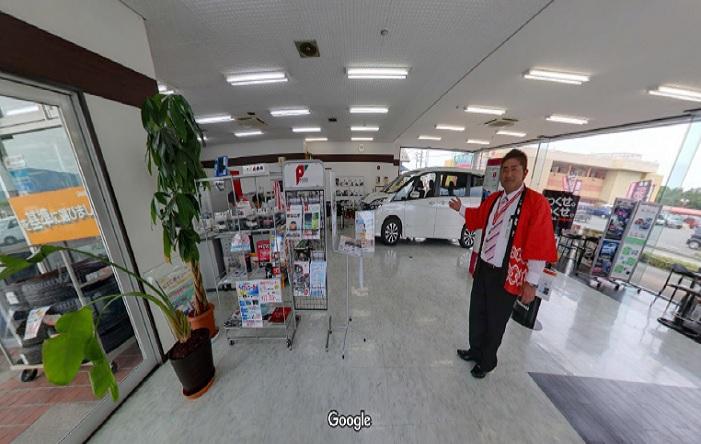 Googleストリートビュー 日産プリンス滋賀販売(株)安曇川店