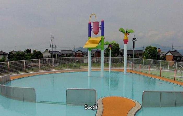 Googleストリートビュー 長浜市民プール