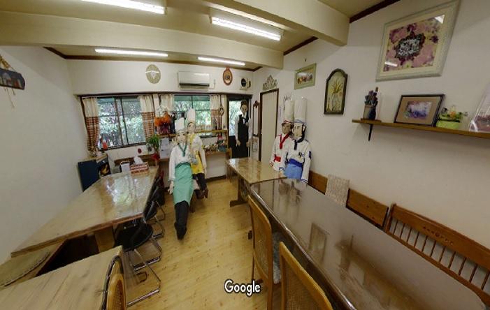 Googleストリートビュー 手作りのお店モックユー