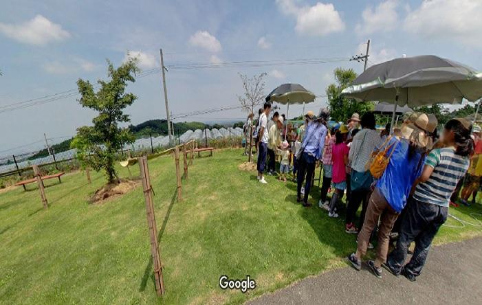 Googleストリートビュー いずみふれあい農の里