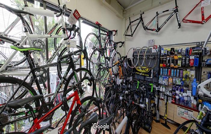 Googleストリートビュー cyclestyleshop TIFARE