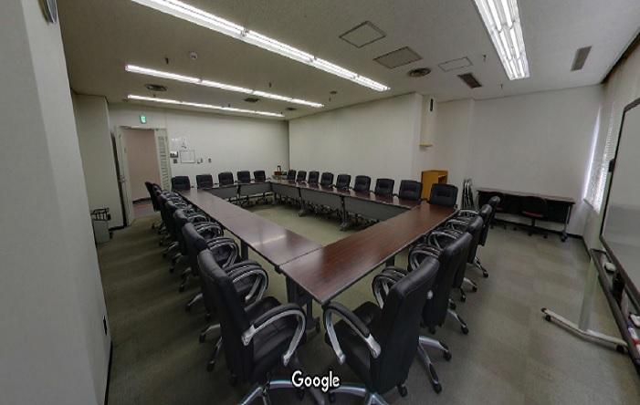 Googleストリートビュー 神戸サンセンタープラザ西館会議室