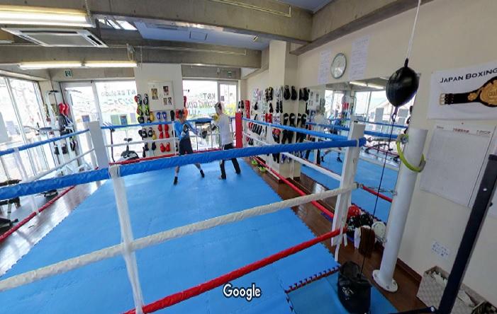 Googleストリートビュー K&Tボクシングジム宇治