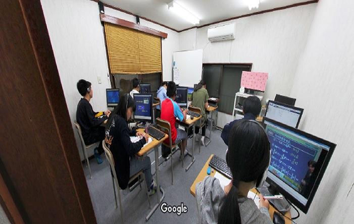 Googleストリートビュー 関塾東大阪市庁前進学学院