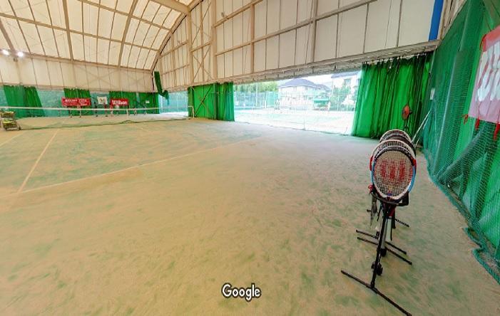 Googleストリートビュー 箕面テニスクラブ