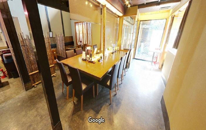 Googleストリートビュー 京町肉どころ 十二屋