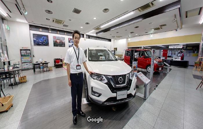 Googleストリートビュー 日産プリンス滋賀販売株式会社彦根