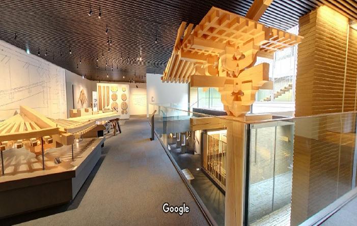 Googleストリートビュー 竹中大工道具館