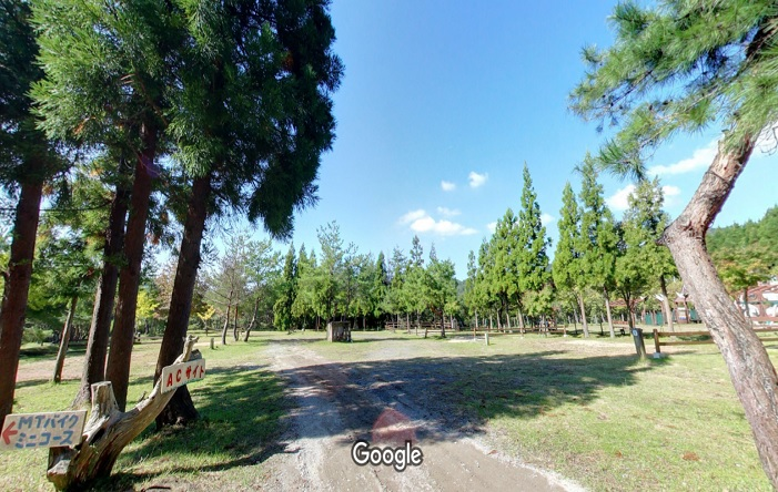 Googleストリートビュー グリム冒険の森