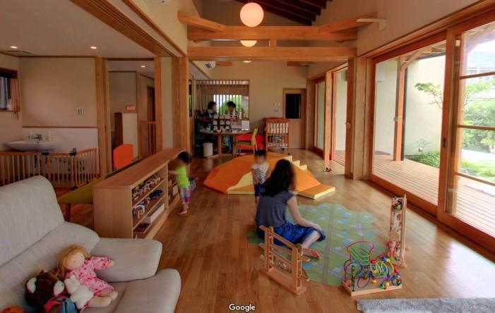 Googleストリートビュー マナ・ハウス(まこと幼稚園)