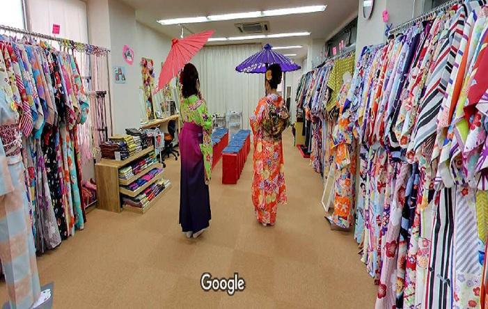 Googleストリートビュー 京乃都 京都駅前