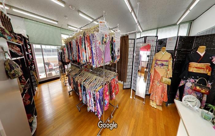 Googleストリートビュー 寺町美人
