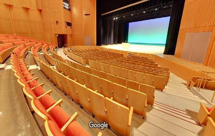 Googleストリートビュー 守山市民ホール