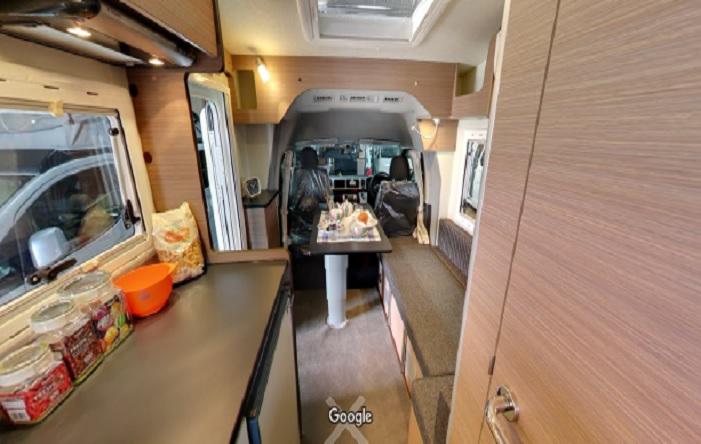 Googleストリートビュー キャンピングカープラザ大阪