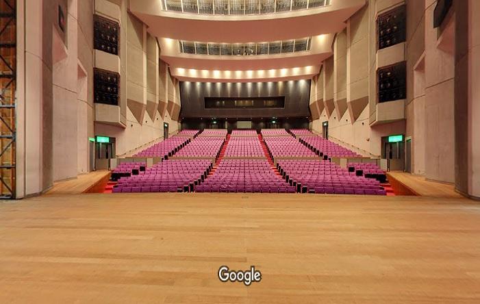 Googleストリートビュー 大東市立総合文化センター サーティホール