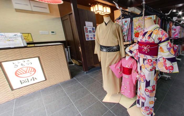 20171009 レンタル着物岡本本店