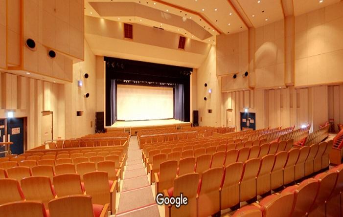 Googleストリートビュー 松原市文化会館