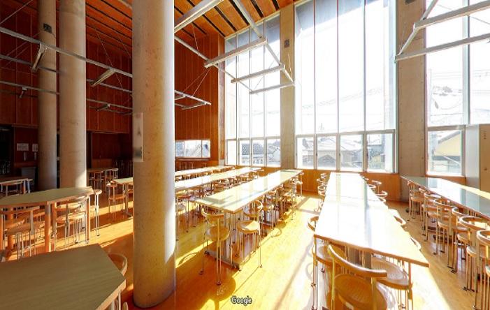 Googleストリートビュー 兵庫大学附属須磨ノ浦高等学校