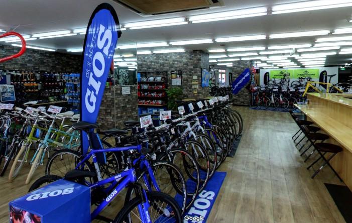 Googleストリートビュー サイクルショップカンザキ千里店